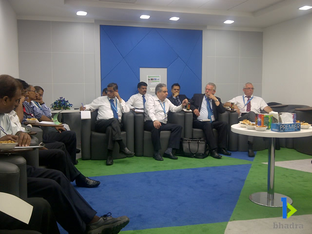 airport management-CMD's interaction with  all airline cargo managers along with Novia Executives.