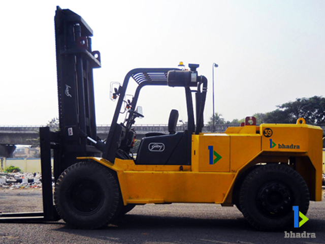 Bhadra International electric forklifts