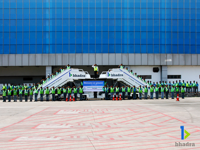 airport ground services-Grand Salute from our RAMP Team, Kozhikode Airport, India